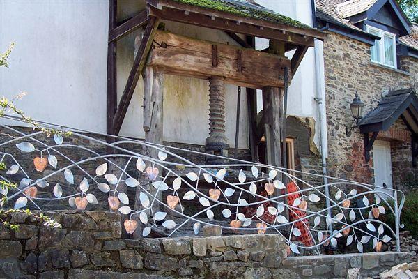 Somerset Blacksmith Southwest Wrought Iron Gates Amp Railings