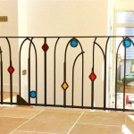 metal-banister-coloured-glass