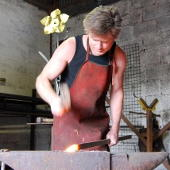 Simon Ridley, Artist Blacksmith in Devon