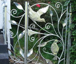 contemporary gates railings